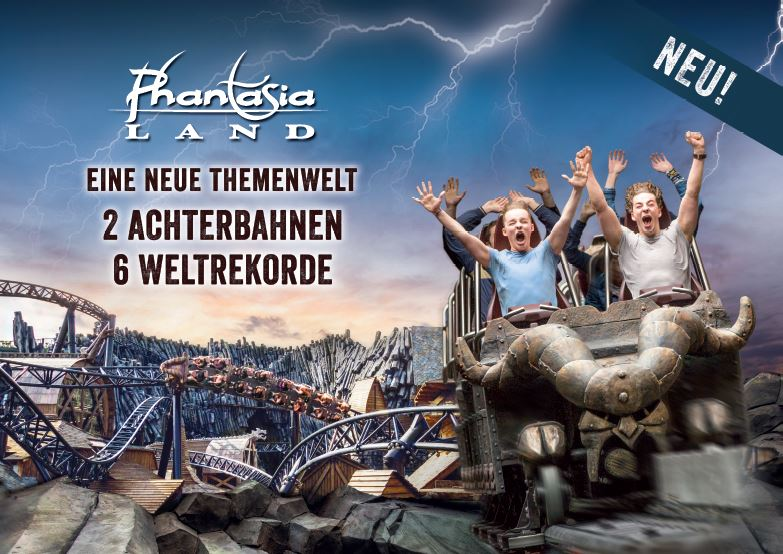 Phantasialand Cologne Offer