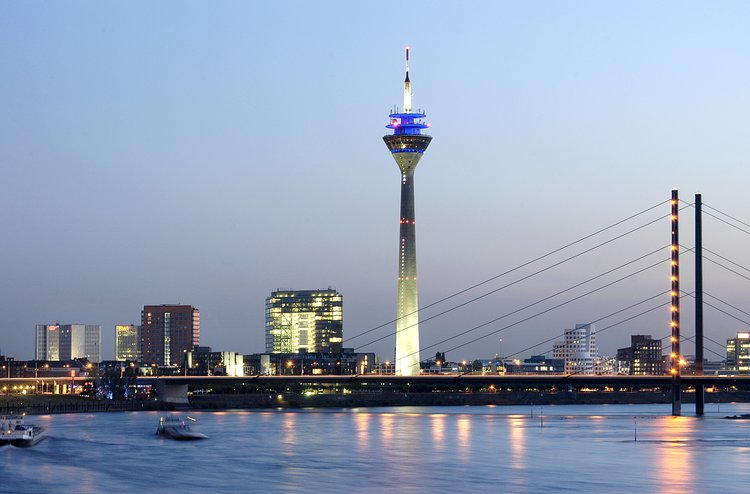 Rhine TV Tower Dusseldorf